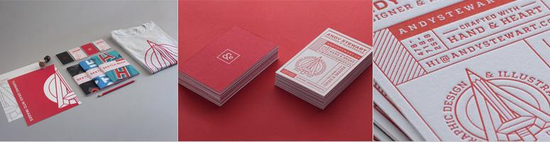 Andy Stewart Design Identity Materials