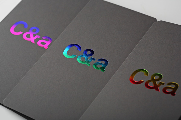C & A New Years Card