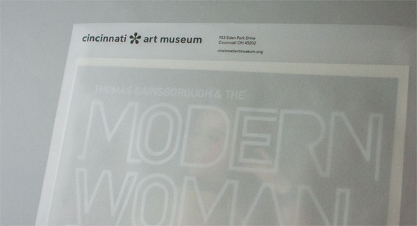 Cincinnati Art Museum Invitation