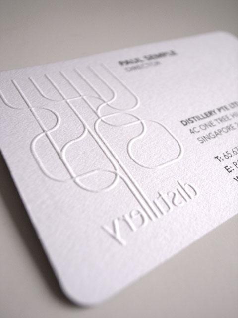 Distillery Business Card