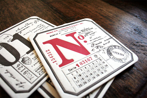 Fabien Barral Promotional Coasters
