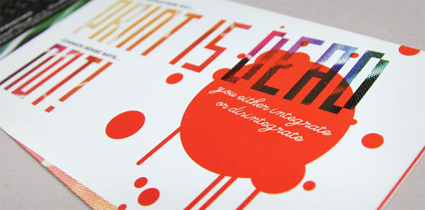 Print is Not Dead Booklet