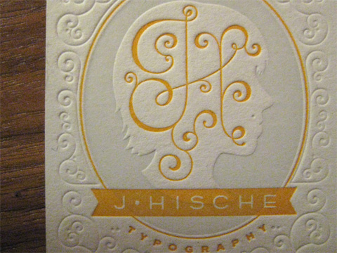 Jessica Hische Business Cards