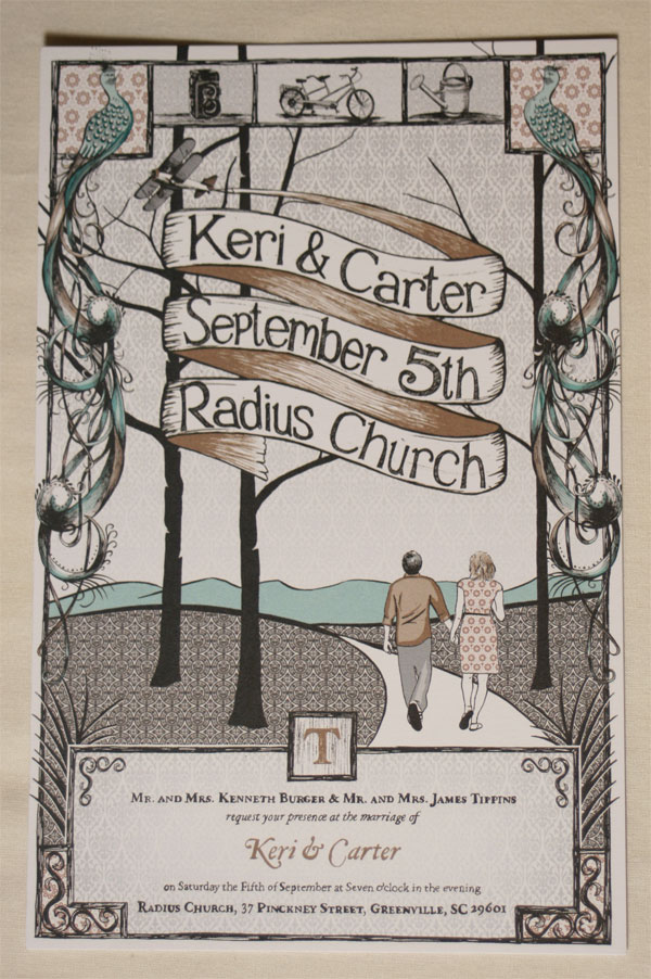 Keri and Carter Invite you...