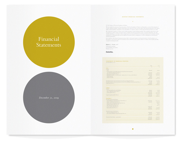 The Law Foundation of Ontario Annual Report