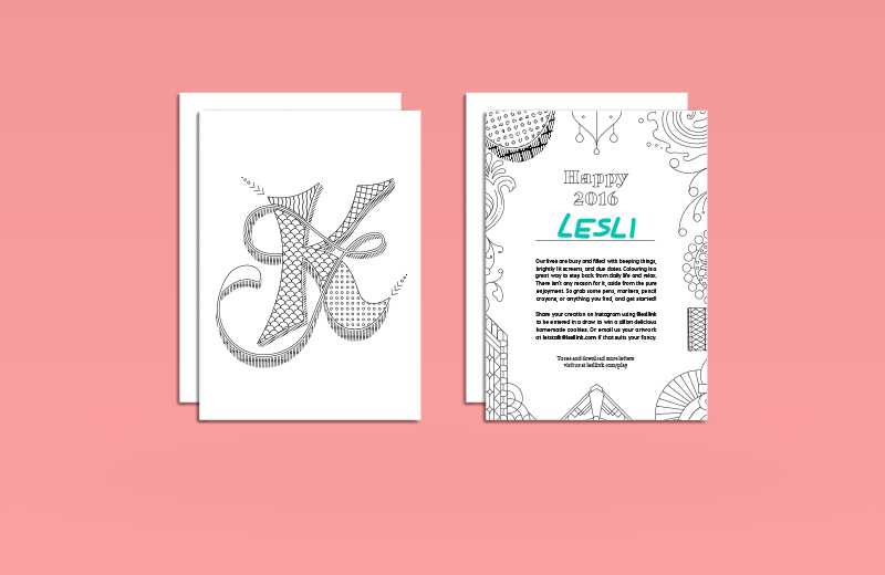 Lesli Ink Holiday Cards