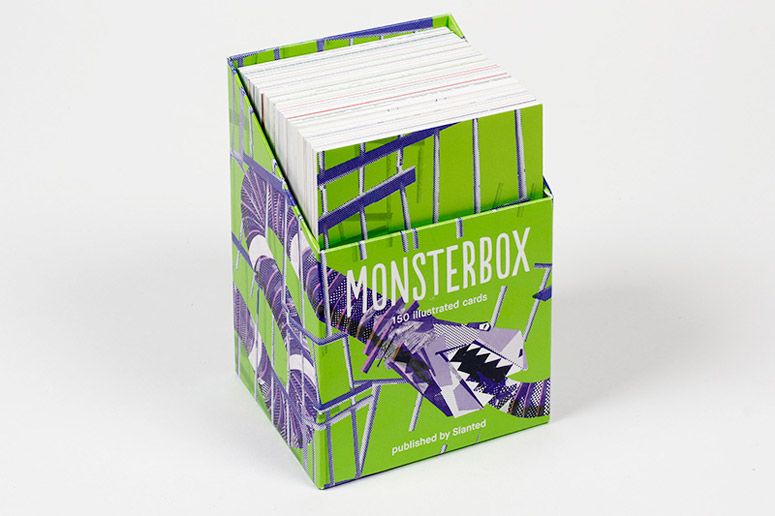 MONSTERBOX 150 Illustrated Monster Cards