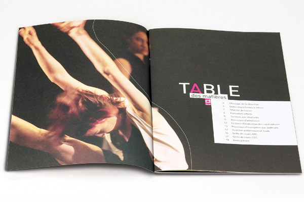Ladmmi, L'ecole De Danse Contemporaine Materials