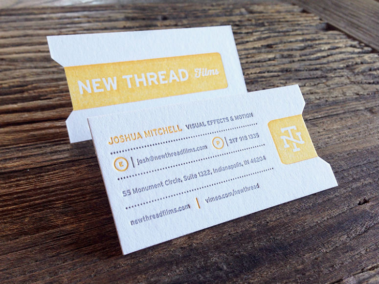 Fpo new thread films business cards new thread films business cards reheart Image collections