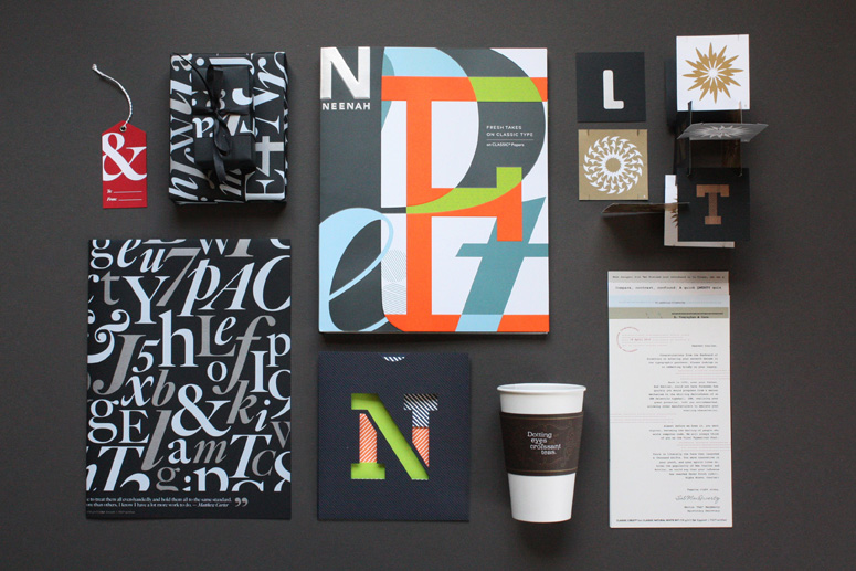 Neenah Fresh Takes on Classic Type