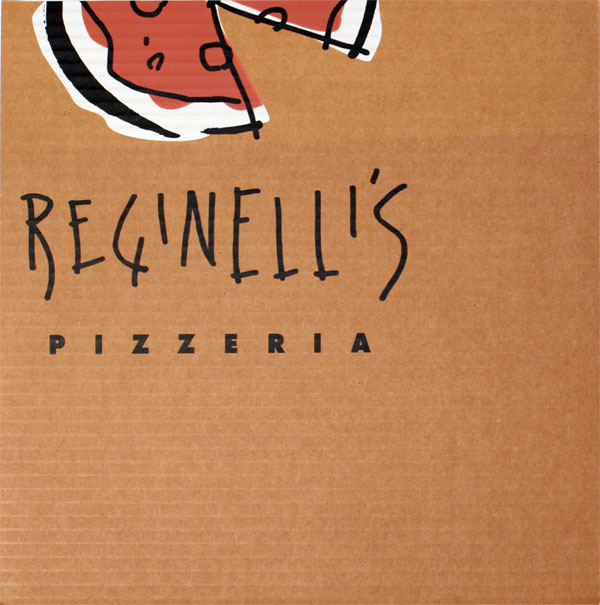 Reginelli's Pizza Menu