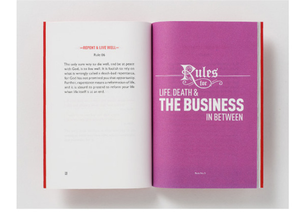 The Rules for the Conduct of Life Booklet