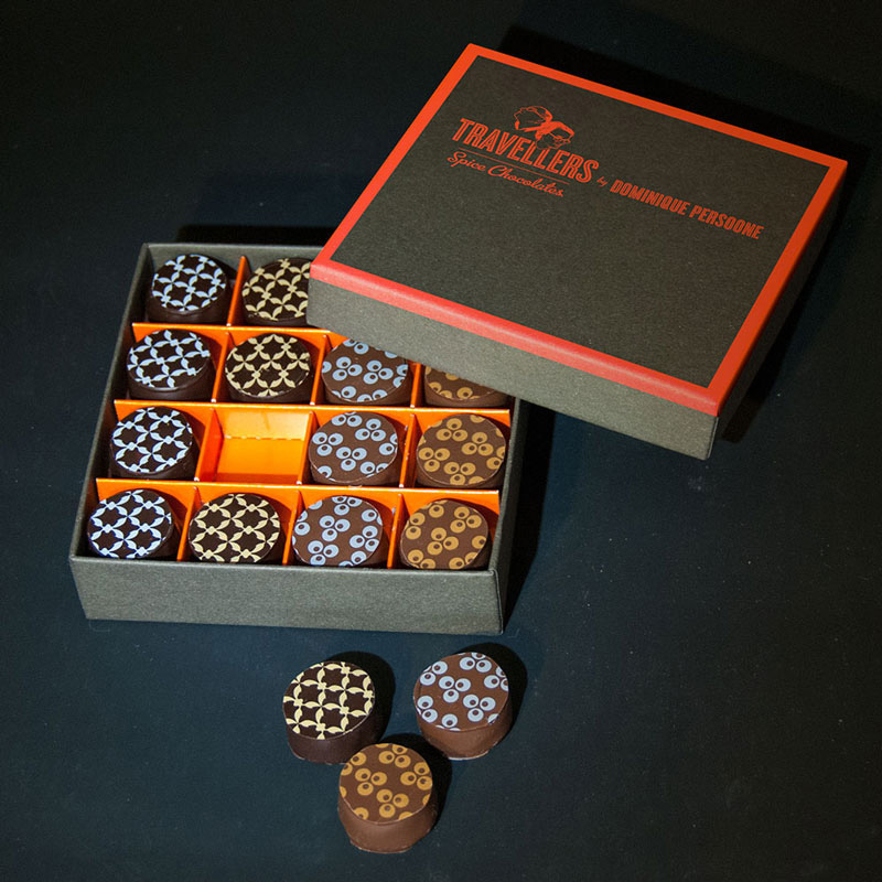 Travellers Spice Chocolates