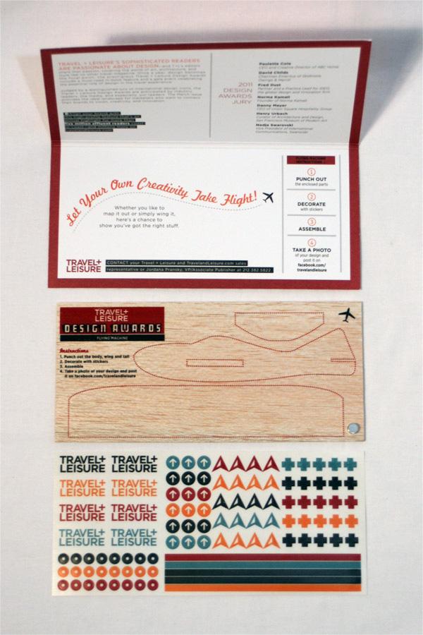 Travel Leisure Design Awards 2011 Mailer
