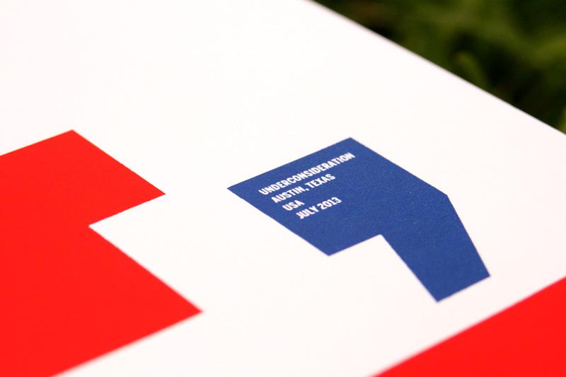 Two Thousand Thirteen Stripes Poster