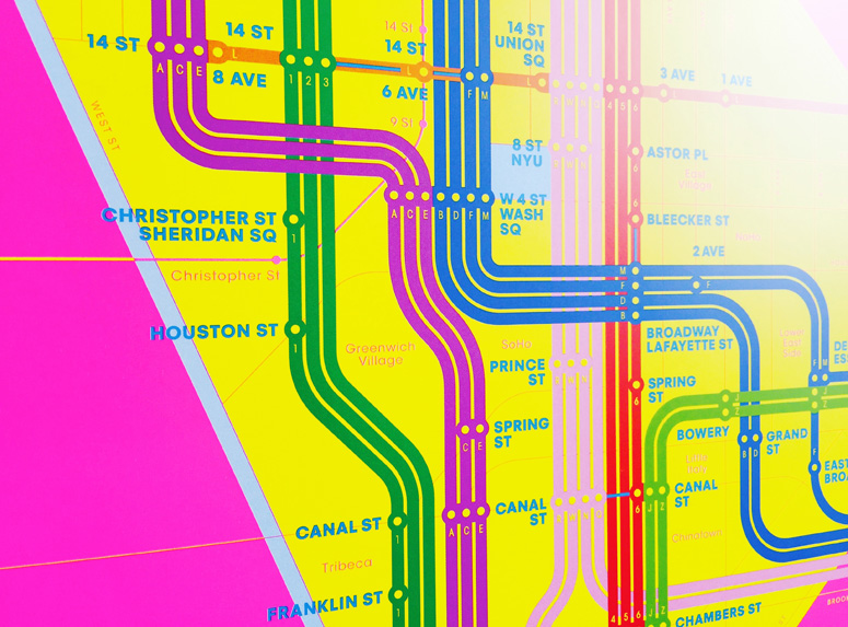 Wrong Color Subway Map
