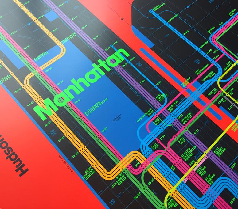 Wrong Color Subway Map