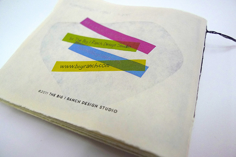 The Big I Ranch Design Studio Book