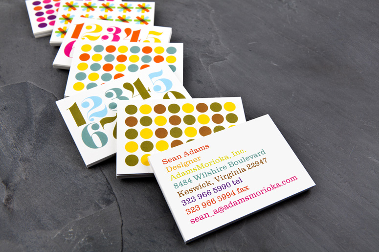 FPO Sean Adams MOO Luxe Business Cards