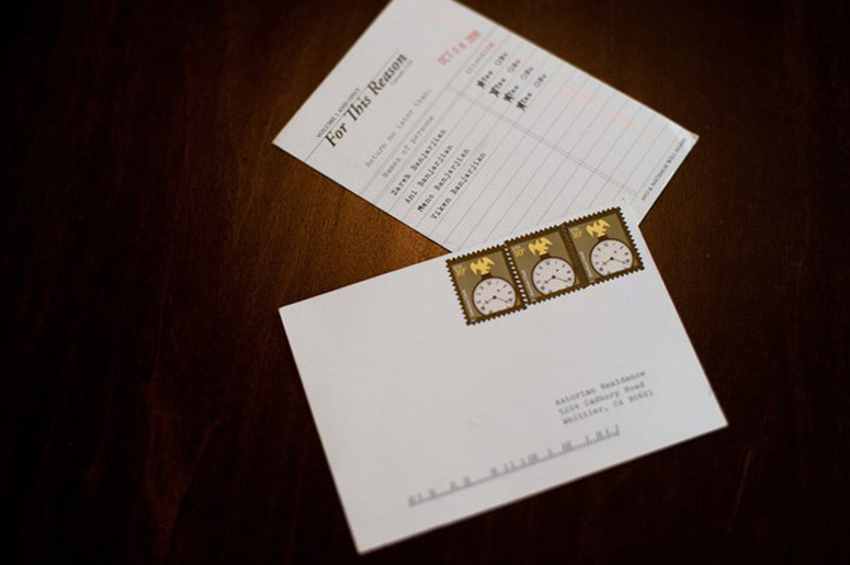 Avo & Nathalie Wedding Invite