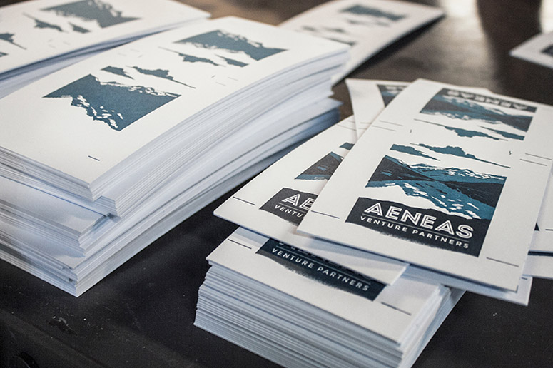 Aeneas Venture Partners Business Card