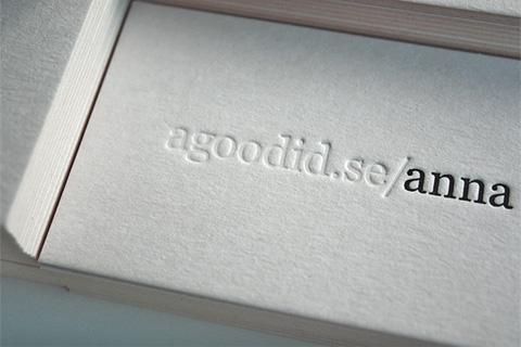 AGoodId Business Card