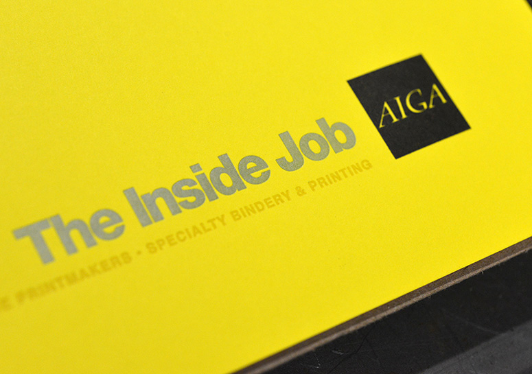 AIGA Houston Inside Job Posters