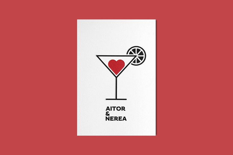 Aitor & Nerea Wedding Invitation