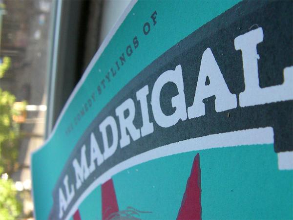 Al Madrigal Poster