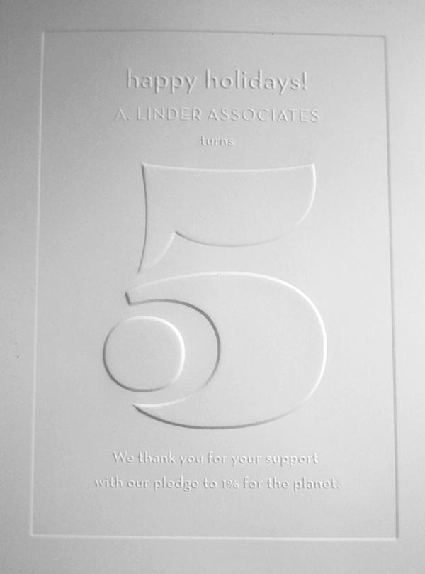A. Linder Associates Holiday Card