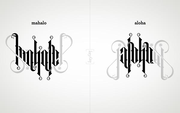 Aloha Mahalo Poster