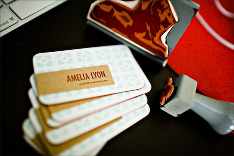 Amelia Lyon Business Card