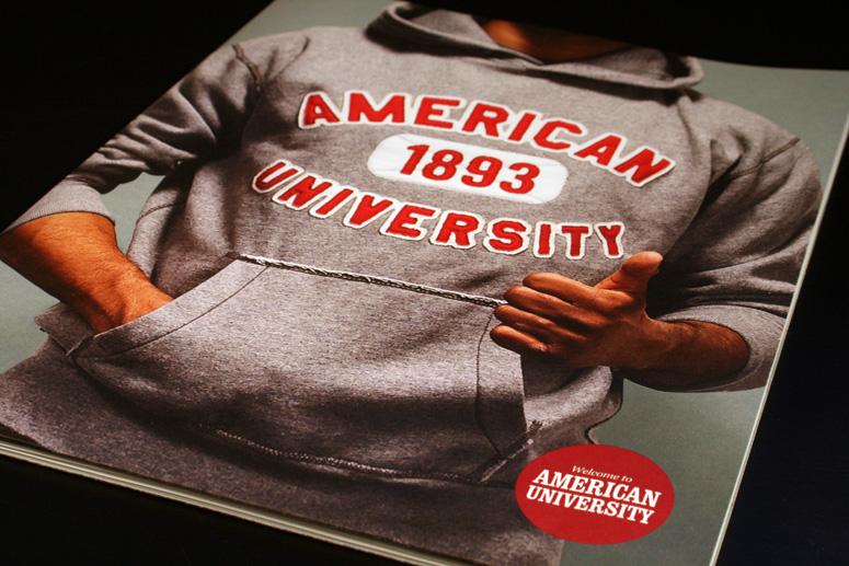 American University Enrollment Materials