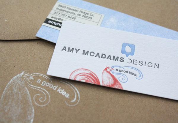 Amy McAdams Business Cards