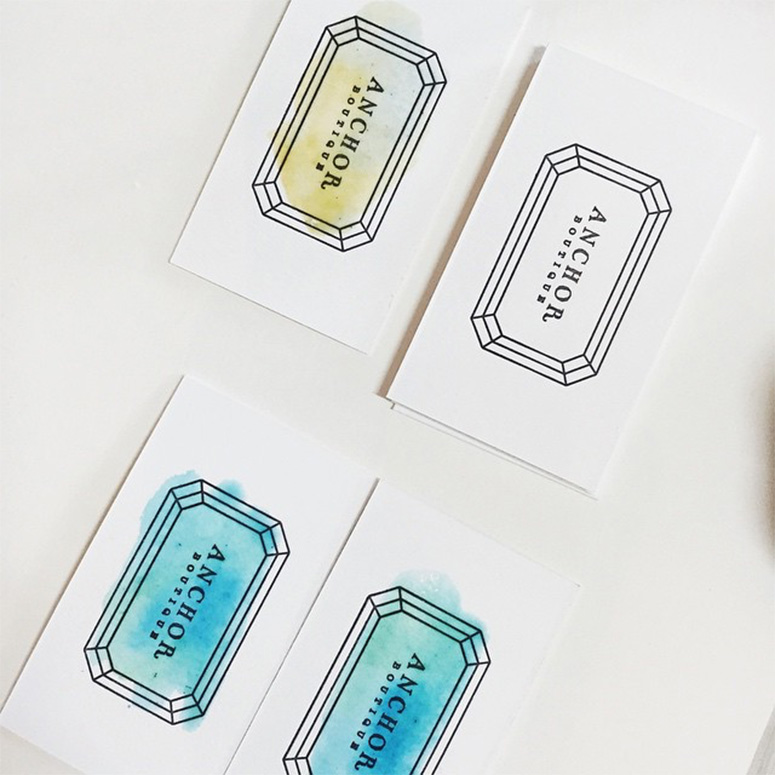 Anchor Boutique Business Cards