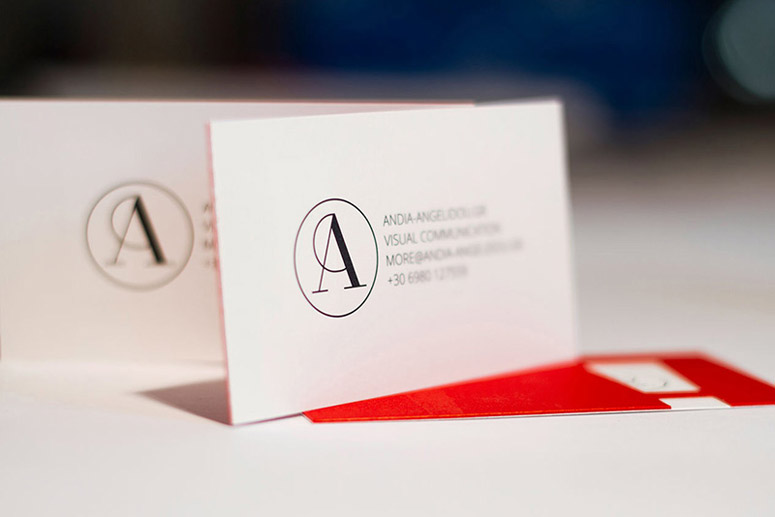 Andia Angelidou Business Card