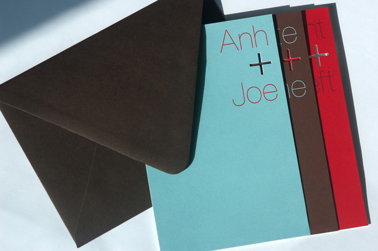 Anh and Joe Wedding Invitation
