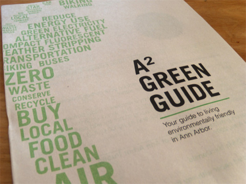 A2 Green Guide Book