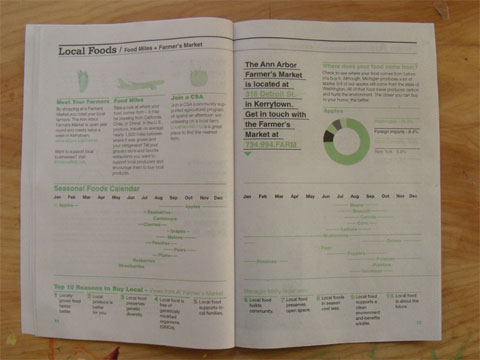 A2 Green Guide Book
