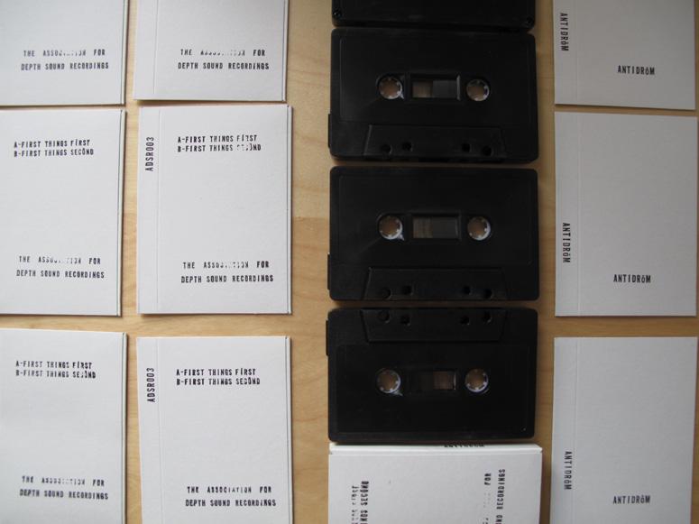Antidröm Cassette Tape Packaging