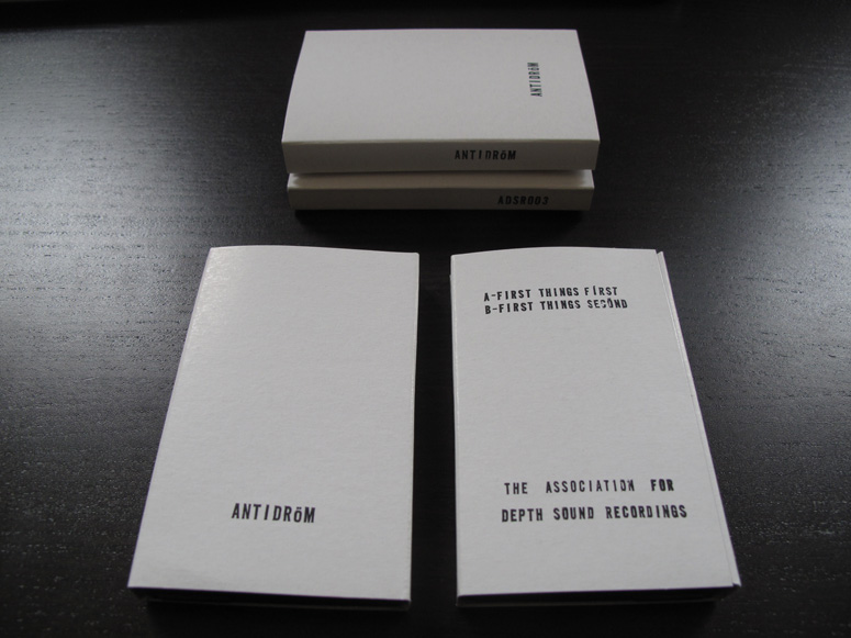 Antidröm Cassette Tape Packaging