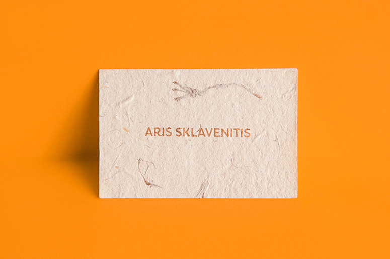Aris Sklavenitis Business Card