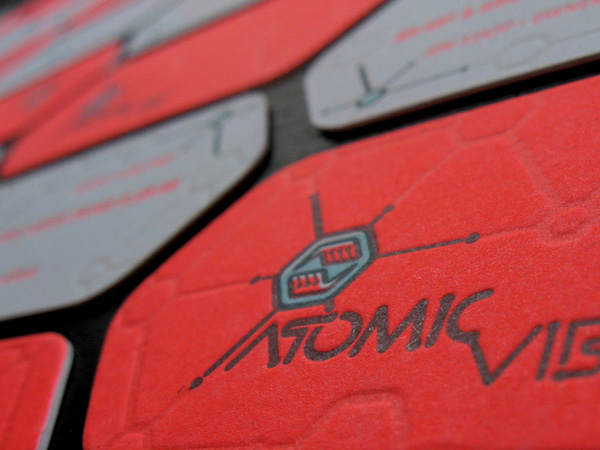 Atomic Vibe Business Card