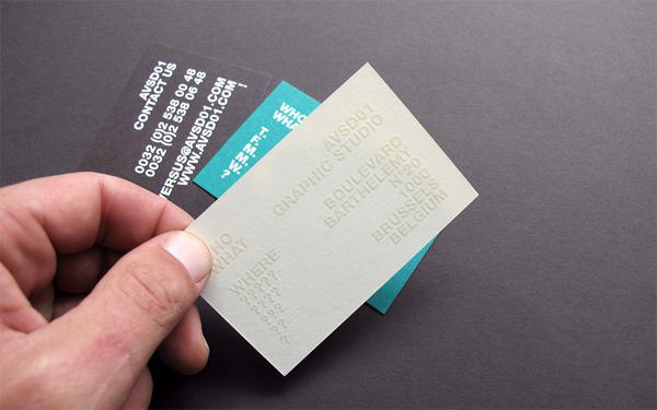 AVSD01 Business Card