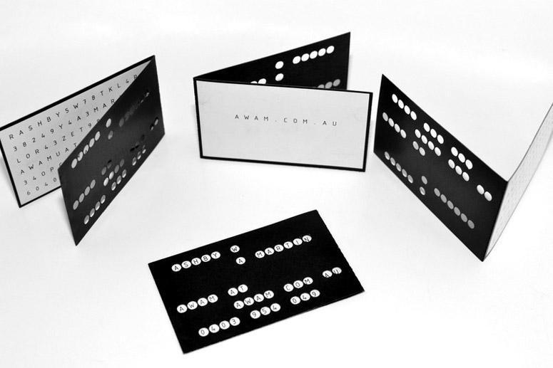 awam engineering design business cards