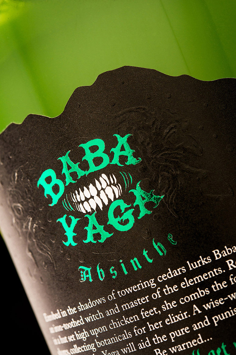 Baba Yaga Absinthe Packaging
