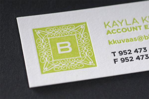 BAKER Business Card