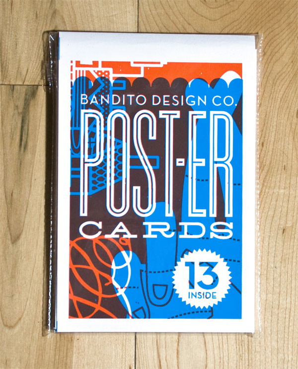FPO: Bandito Design Co. Promotional Cards