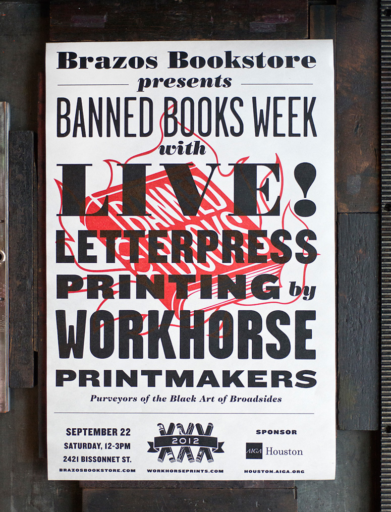 Banned Books Week Broadsides and Posters