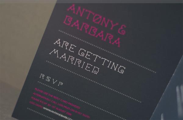 Barbara and Antony Wedding
